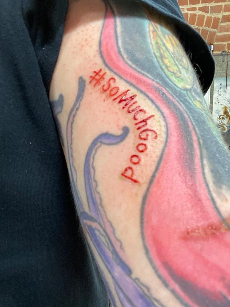 So much good tattoo